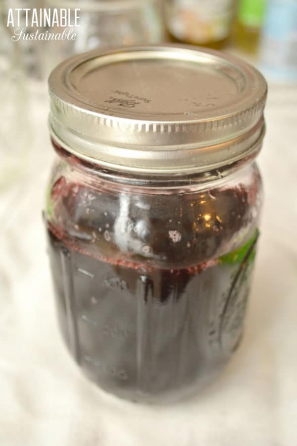 jar 3/4 full of grape jelly recipe
