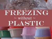 Plastic-Free Freezer Storage