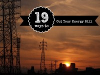 Cut Your Energy Usage, Save Money, Be Green