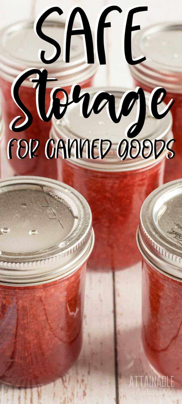 canning jars with red ingredients