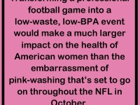 The NFL and Breast Cancer Awareness: Unclear on the Concept