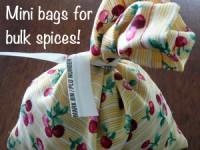 Mini Bags for Small Bulk Items