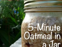 Oatmeal in a Jar: Faster (and Healthier) than McDonald's