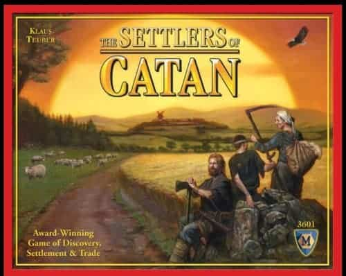 settlers of catan board game - great gifts for kids