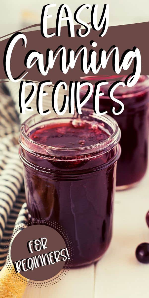jars of home canned grape jelly