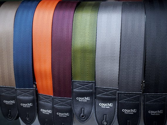 guitar straps made from seat belt