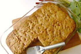 Savor the Season with this Rhubarb Coffee Cake