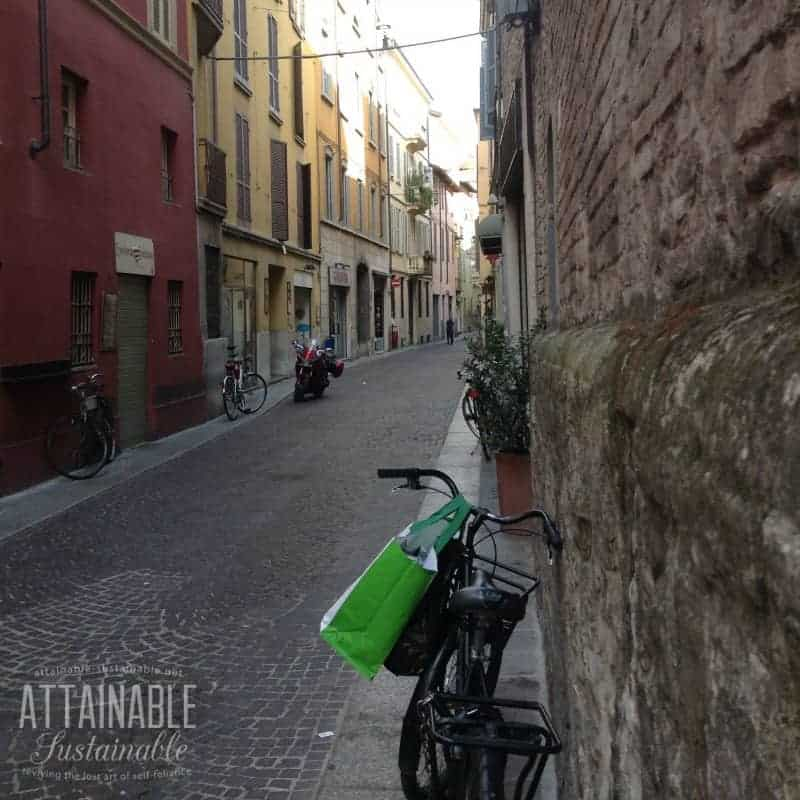 bicycles in parma -- eco friendly transportation
