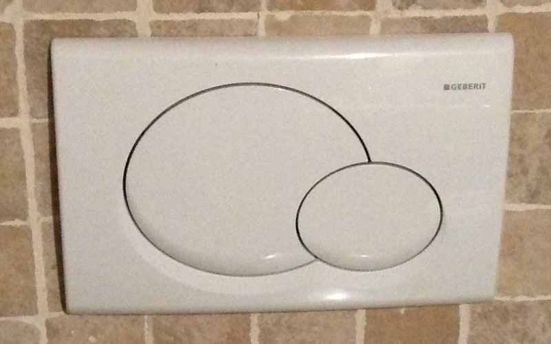 Why don't we have the dual flush option in every bathroom??