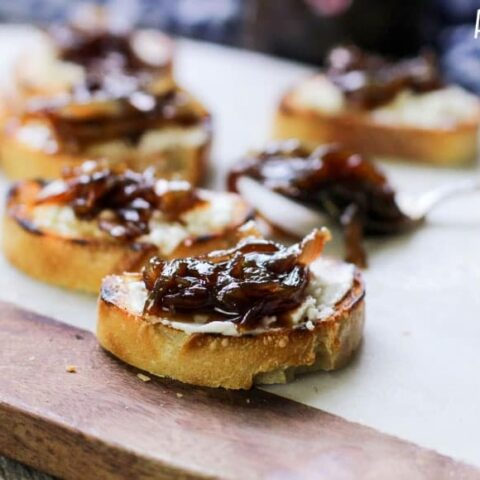 Caramelized Onion Jam Recipe with Balsamic Vinegar