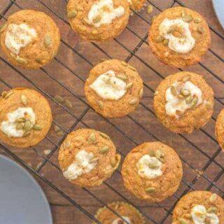 Better Than Starbucks Pumpkin Cheesecake Muffin Recipe