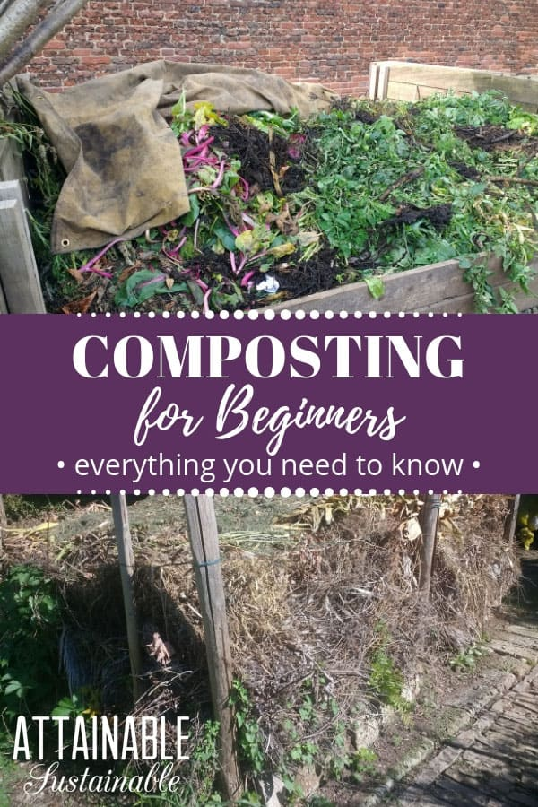 Whether you're learning about hot composting, passive compost methods, or other compost systems, start with this composting for beginners primer. The biggest thing to note: Composting is not hard. It's a natural process that you can help
