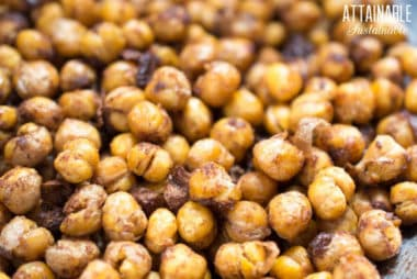 roasted chickpea recipes up close