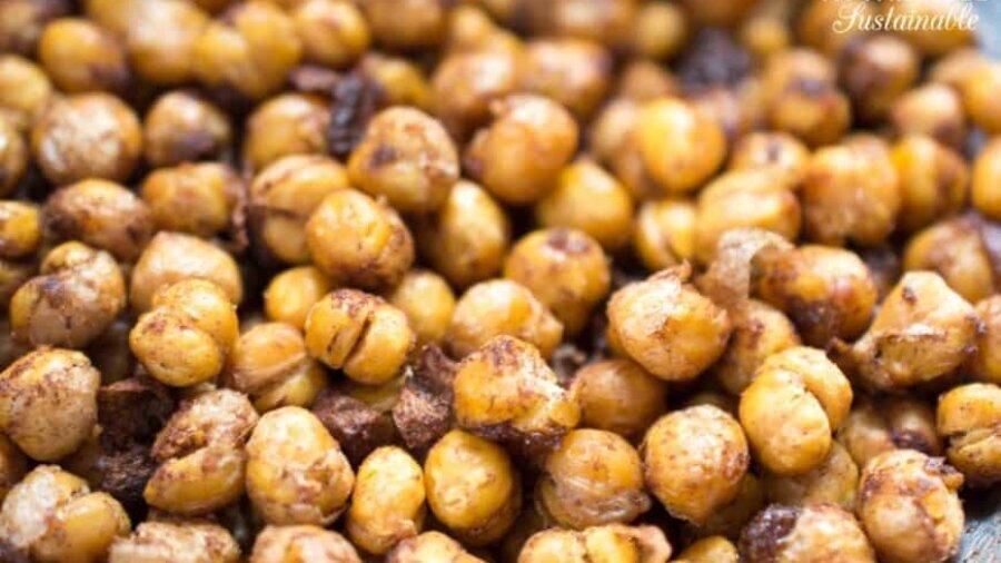 roasted chickpea recipes up close