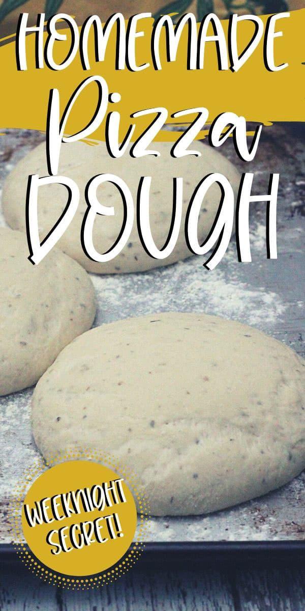 pizza dough rounds rising