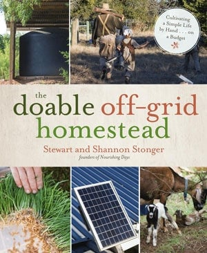 book cover: Doable off grid homestead