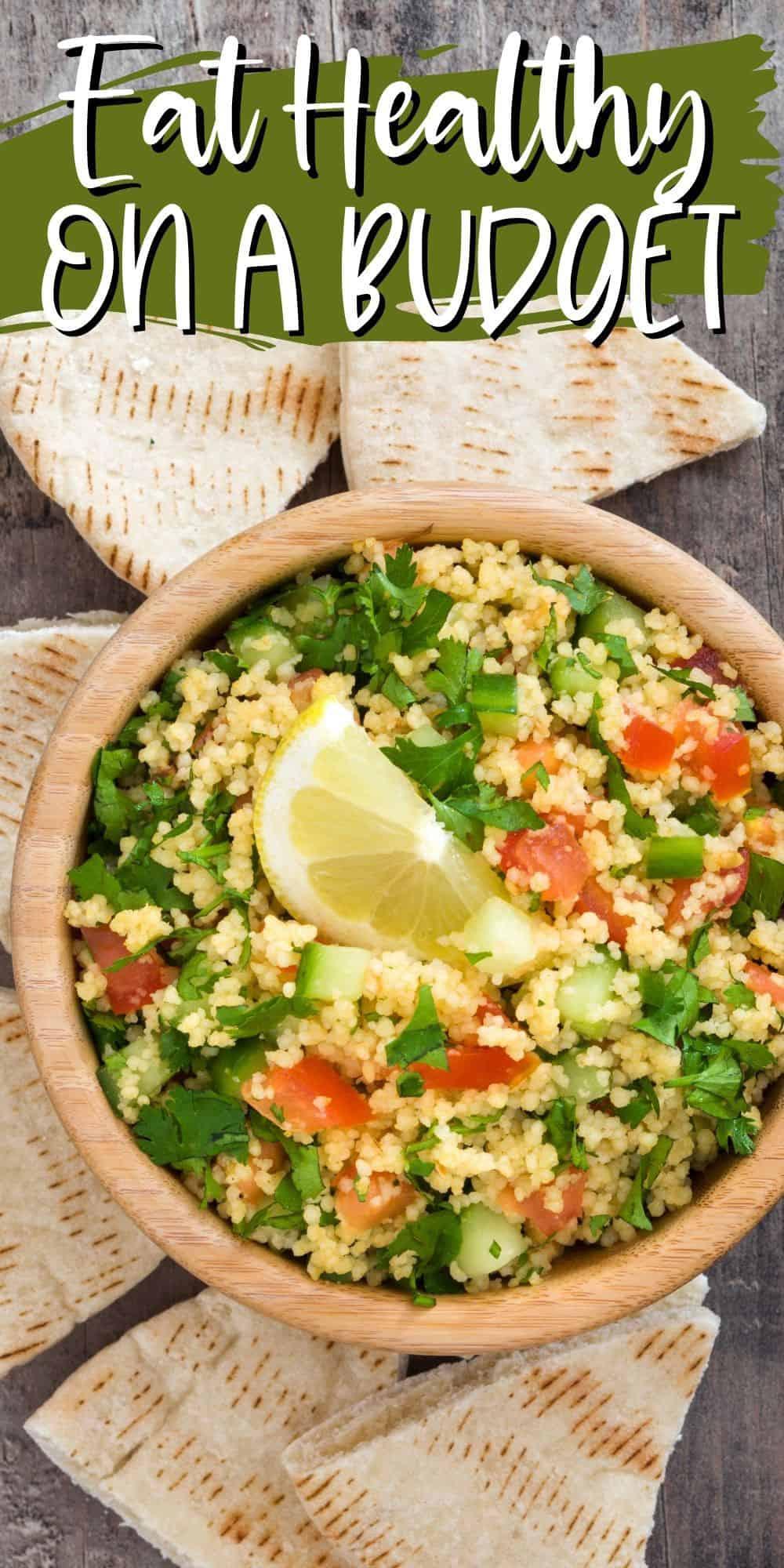 pita with quinoa salad