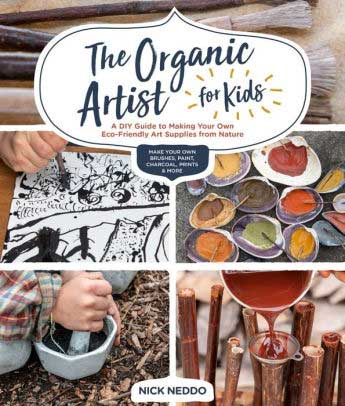 book: organic artist for kids