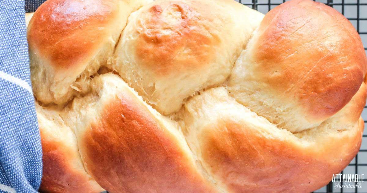 BRAIDED Portuguese sweet bread